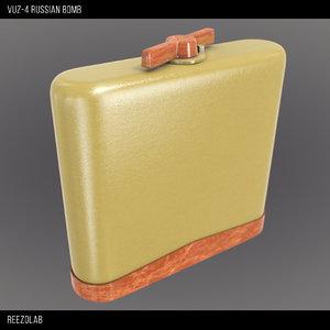 3d model vuz-4 russian