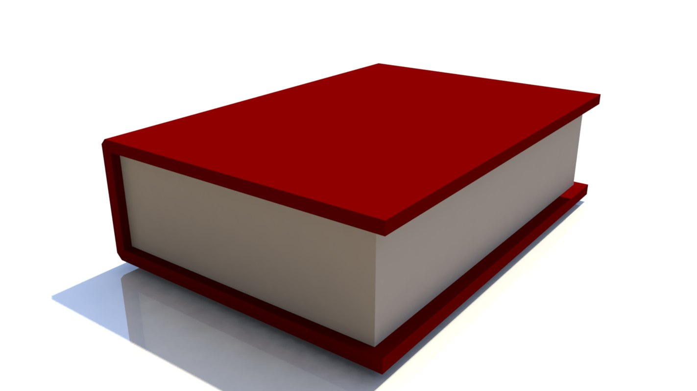 ready book 3d obj