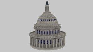3d capitol dome