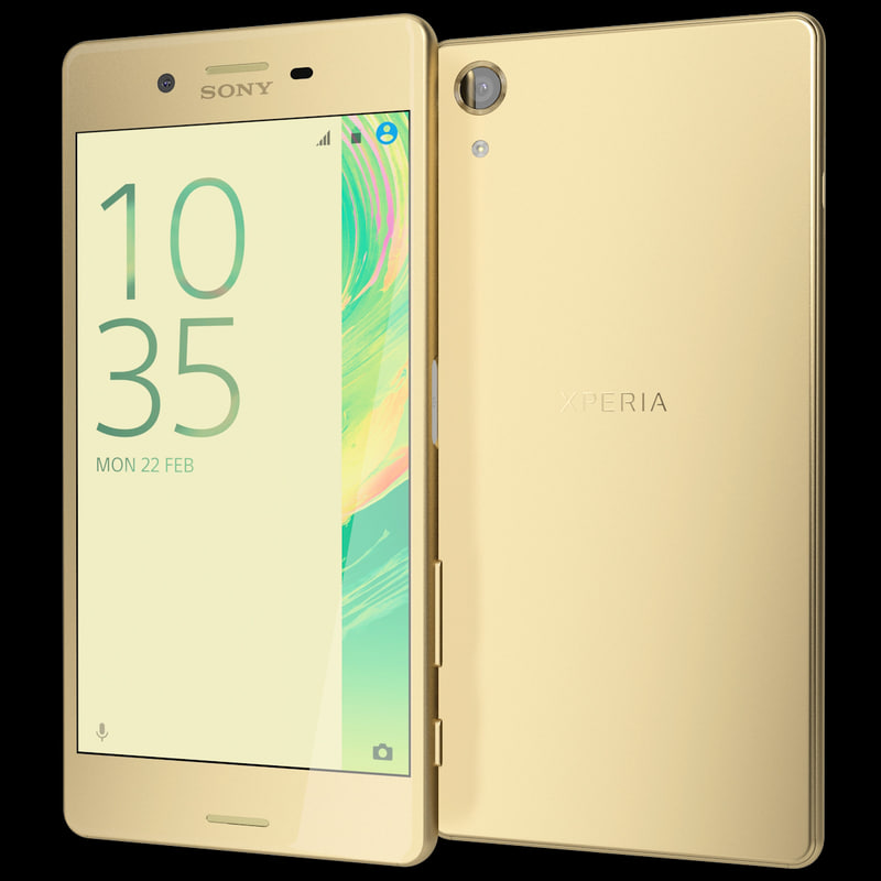 realistic sony xperia x 3d 3ds