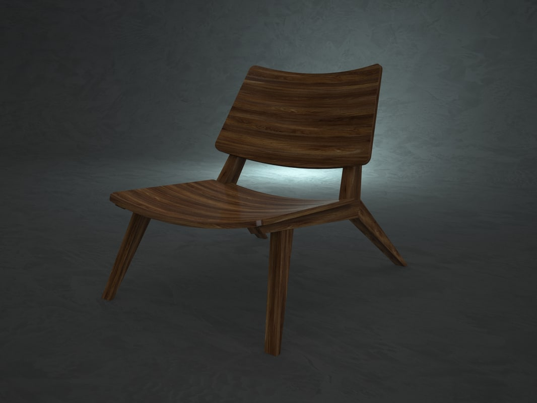 chair design jader almeida 3d max
