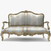 luxurious sofa 3d max