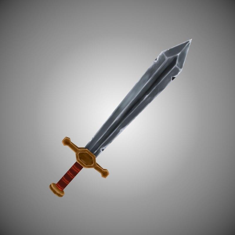 sword 3d max