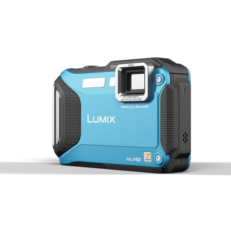 panasonic lumix dmc-ft5 blue 3d model
