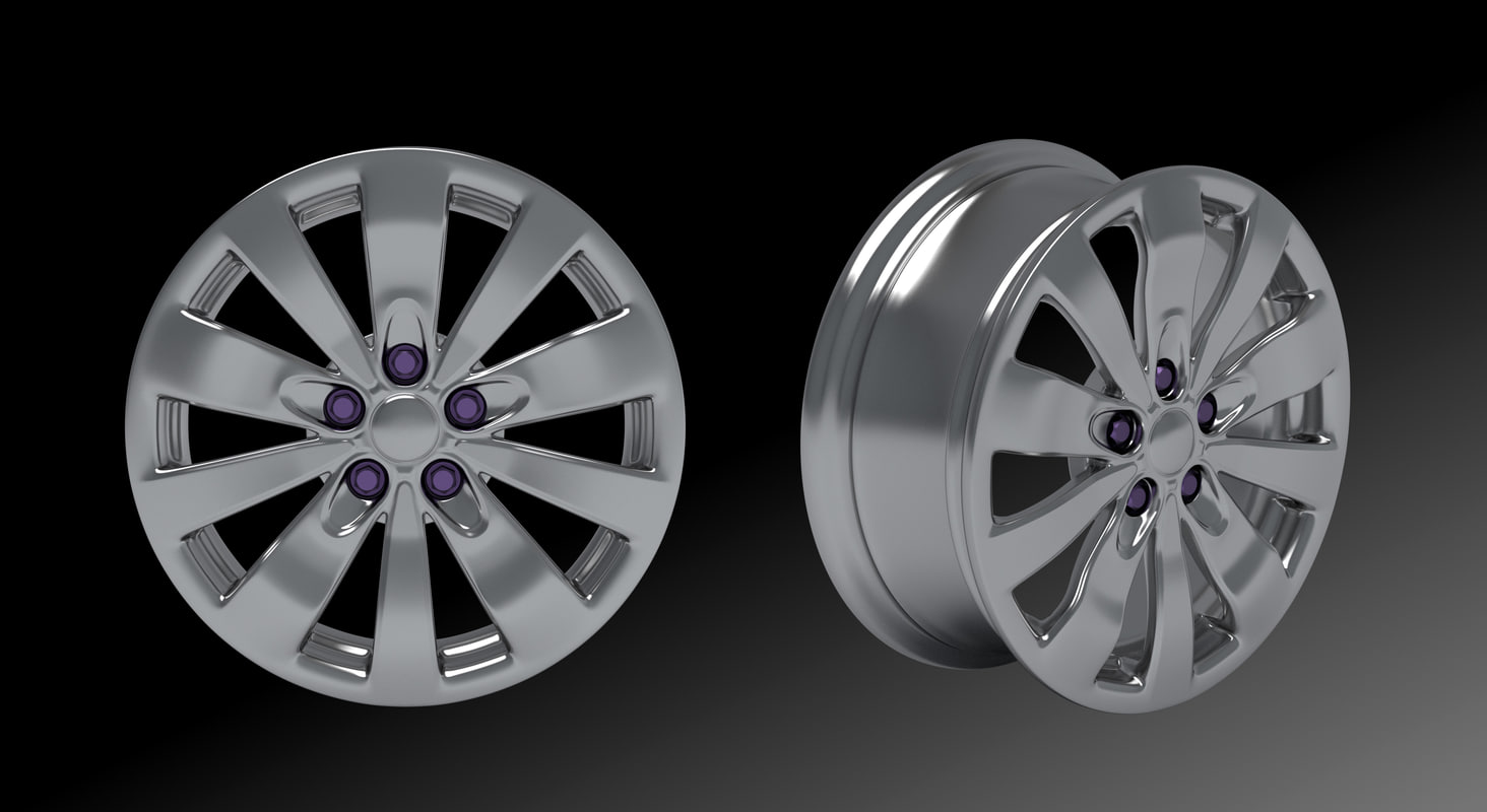 style wheel 3d model