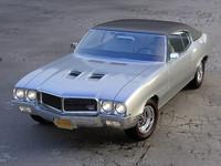 buick gs 1970 3d model