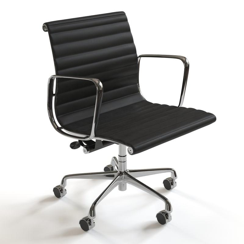 Herman Miller Eames Management Chair  sc 1 st  TurboSquid & eames aluminum management chair 3d model
