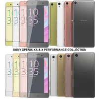 Sony Xperia XA & X Performance Collection