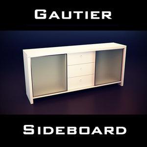 3ds gautier manhattan sideboard