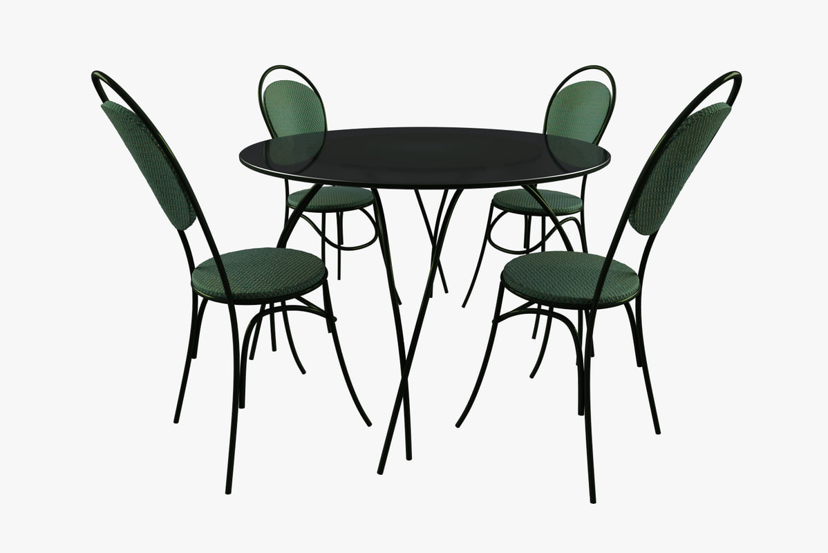 table chairs dxf