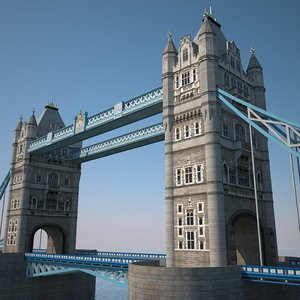 3d london bridge