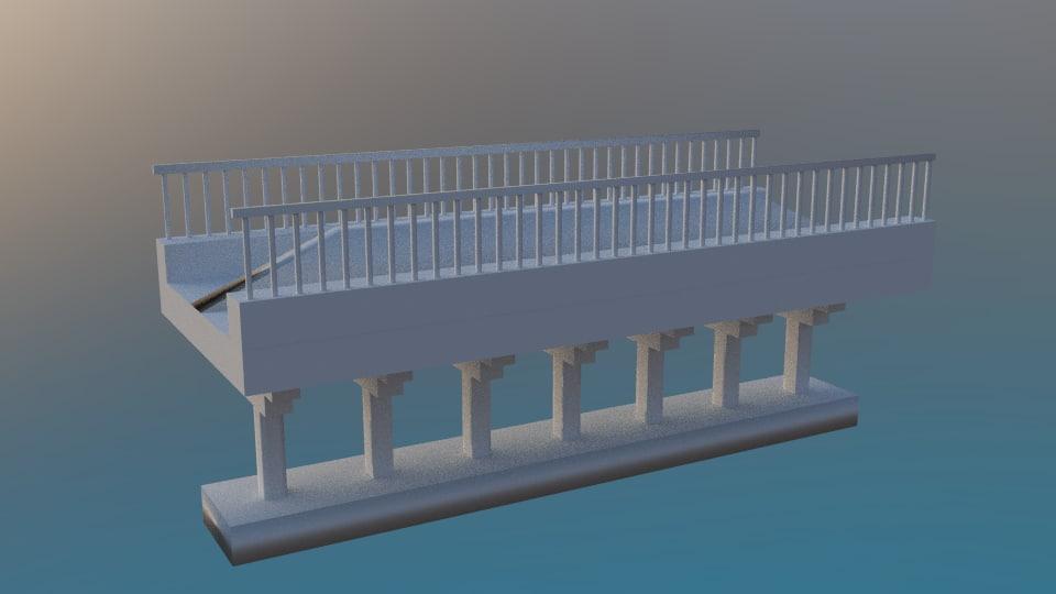 obj metro bridge train games