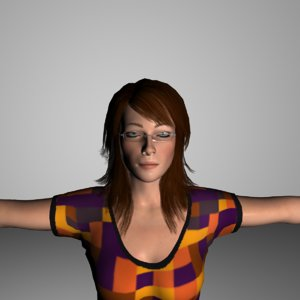 3d emily realistic