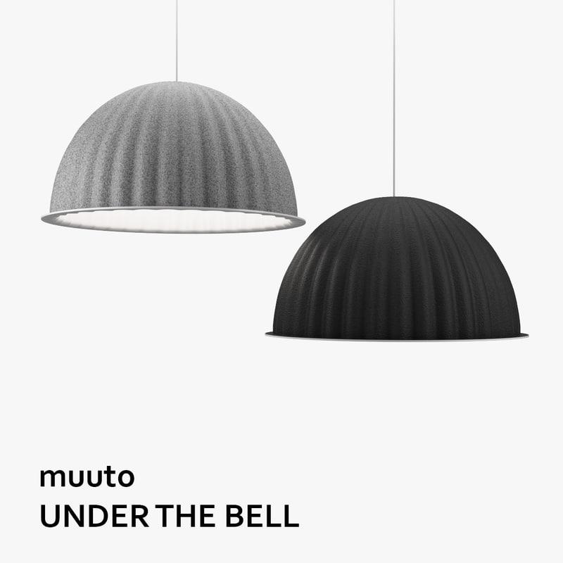 muuto bell lamp 3d max