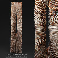 3d wooden statue thierry martenon
