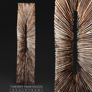 3d wooden statue thierry martenon