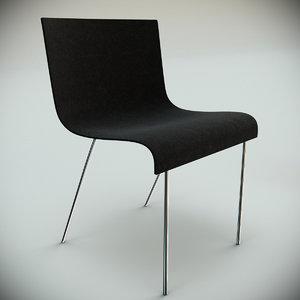 gubi chair 2 3d max