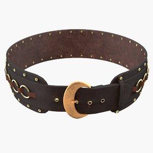 3d max medieval belt