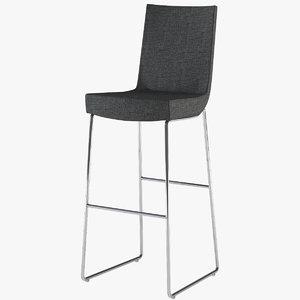 stool jim montis 3d model