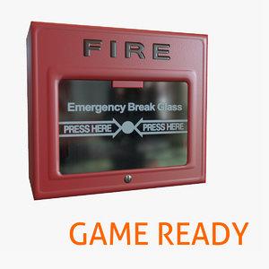 ready alarm 3d x