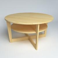 ikea table vejmon 2 c4d
