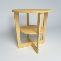 3d model ikea table vejmon 3