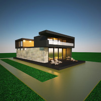 Abstruct house model