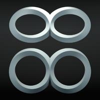 infinity symbols 3d max