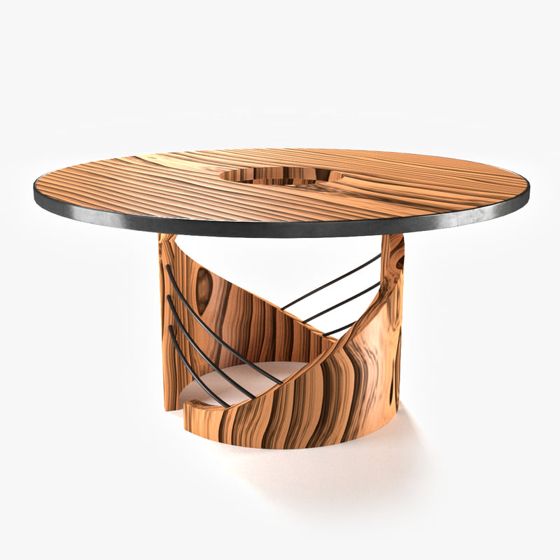 3d 3ds dining table