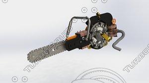 concept chainsaw steam max