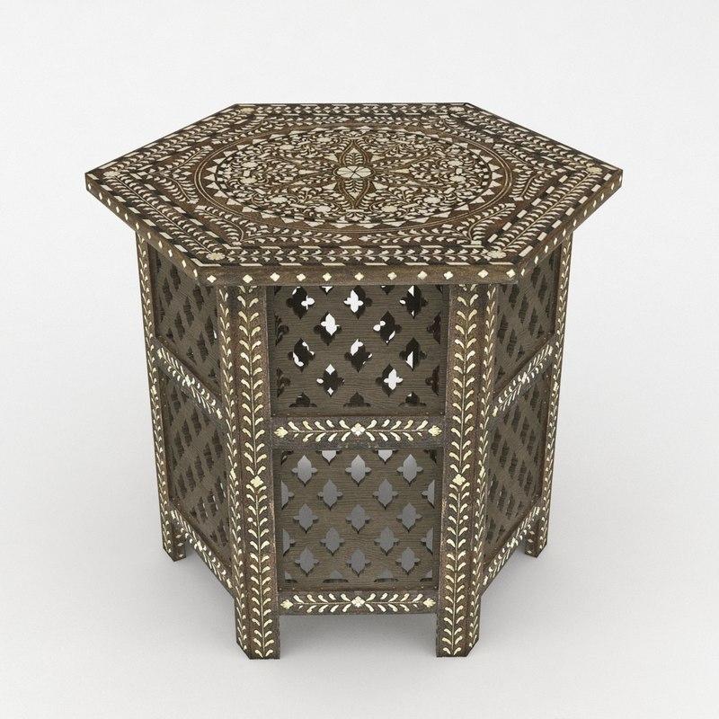 max table moroccan