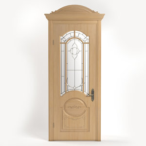 3d interior door model