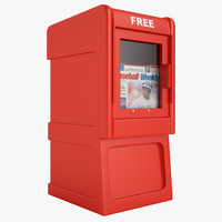 Free Newspaper Box 01