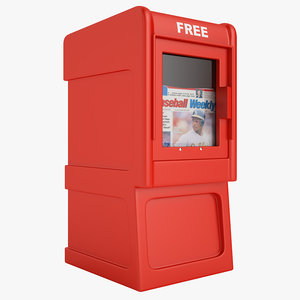 3ds newspaper box