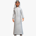 Arab Man 3D models