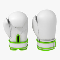 boxing glove 3d max