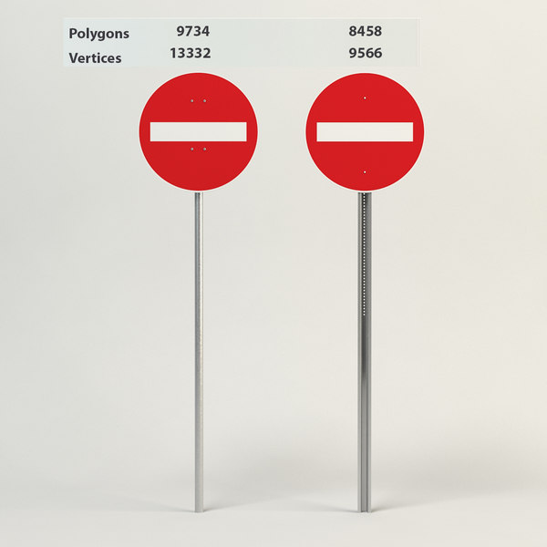3ds entry way street signs