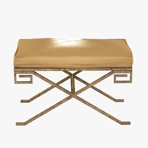 bench venetian sterling 3d max