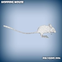 3d model spinifex hopping mouse