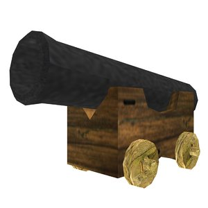 cannon pirate ship 3ds