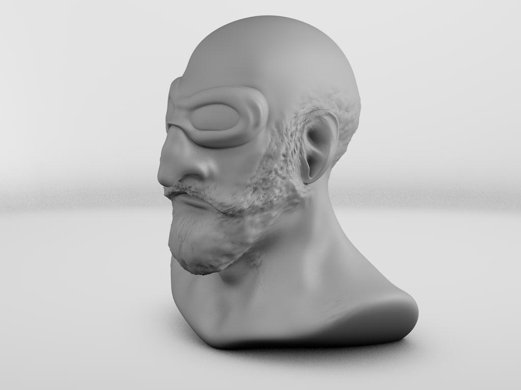 human man 3d c4d