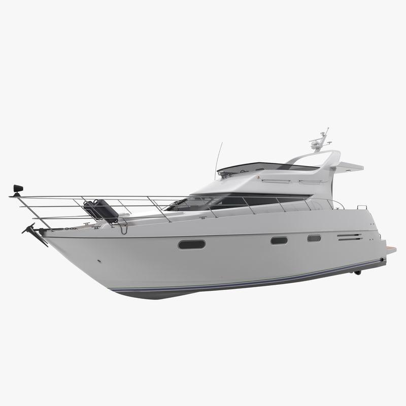 motor yacht 3d 3ds