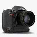 digital camera 3D models
