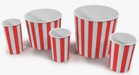 3d cups popcorn 1