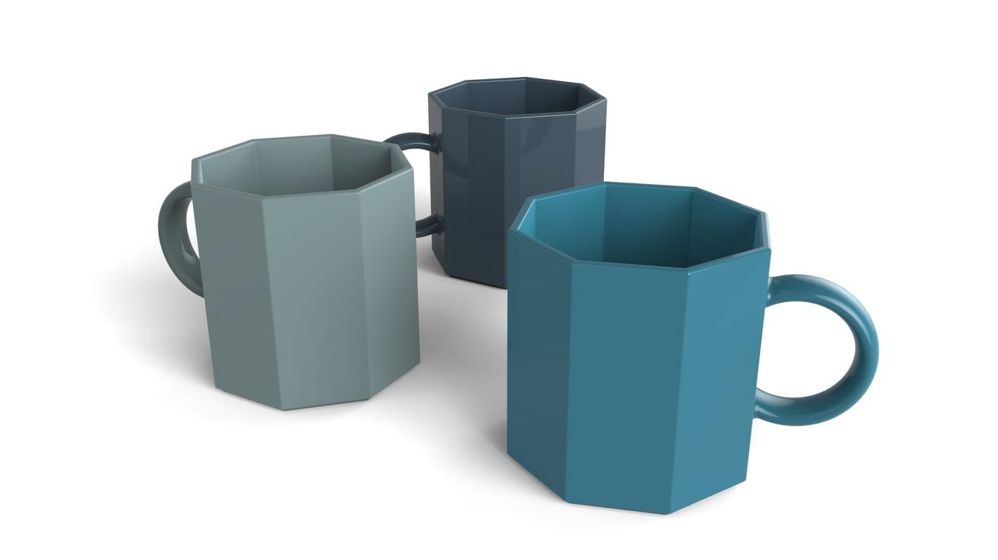 coffee mug 3ds