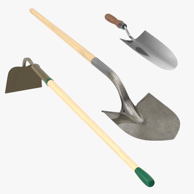 3d max garden tools
