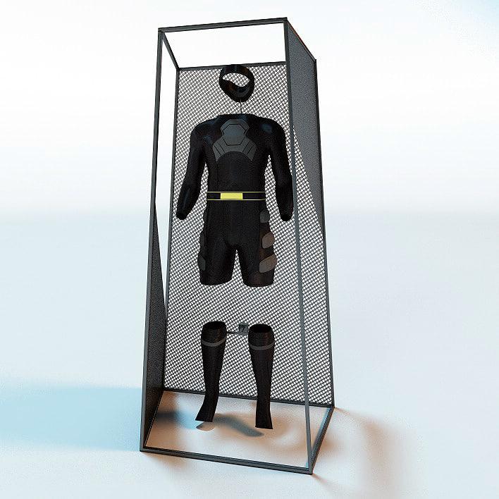 3d suit body