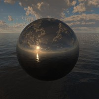 Ocean Clouds 360 HDRi