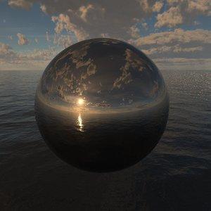 Ocean Clouds 360 HDRi