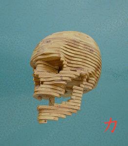 skull 3d obj